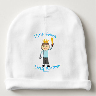 Little Prince Little Brother Baby Beanie