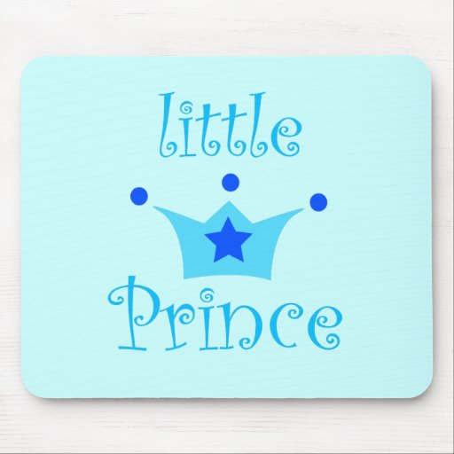 little prince mouse pad