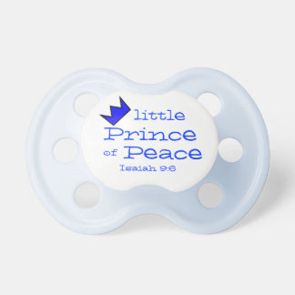little Prince of Peace ! Pacifier
