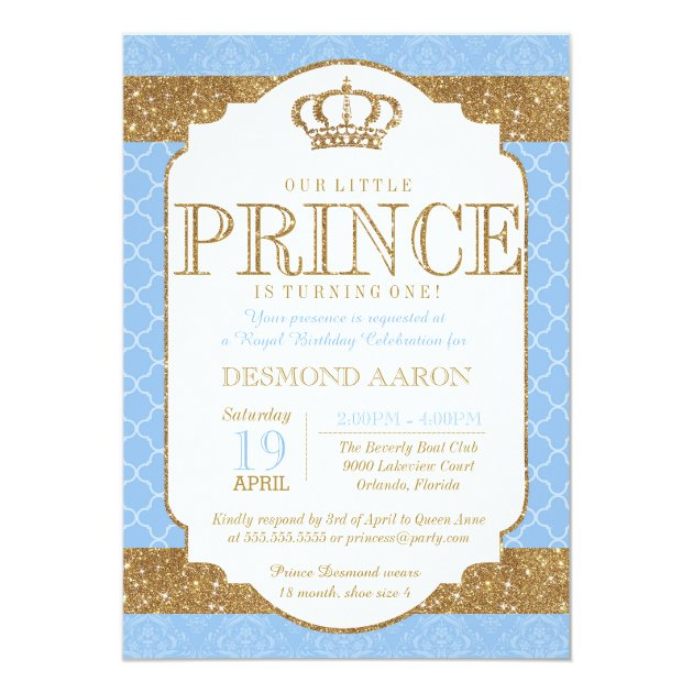 Royal Prince Baby Shower Invitations For Amazing Invitations Sample