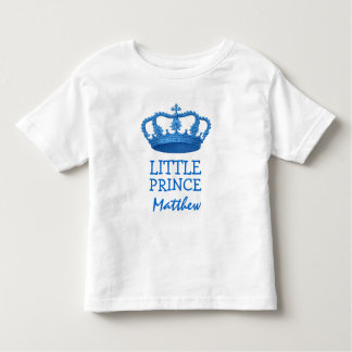 Little Prince with Crown V21 Toddler T-shirt