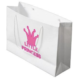 little princess - a Royal Baby! Large Gift Bag