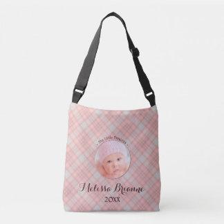Little Princess Baby Girl Pink Plaid Crossbody Bag