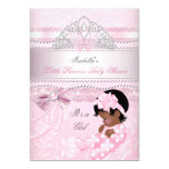 Little Princess Baby Shower Girl Butterfly AA 5x7 Paper Invitation Card