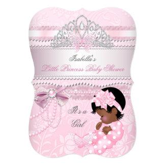 Little Princess Baby Shower Girl Butterfly AA Card