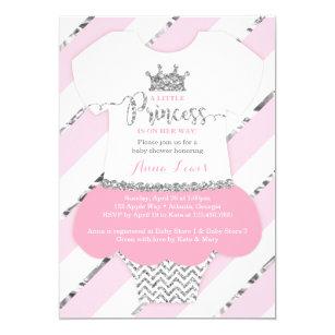 Little princess baby shower invitations zazzle little princess baby shower invite faux glitter invitation filmwisefo