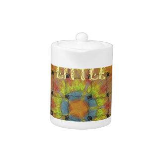Little Princess Beautiful  colors Design Teapot