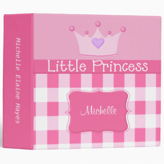 Little Princess Binder