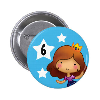 Little Princess Birthday badge 2 Inch Round Button