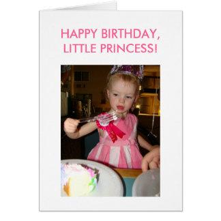 Little Princess, Birthday, HAPPY BIRTHDAY,LITTL... Card