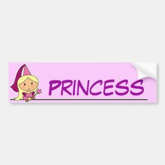 Little Princess Bumper Sticker