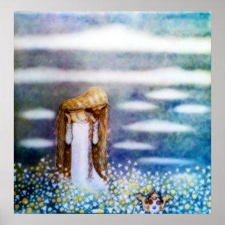 Little Princess Cottongrass Poster