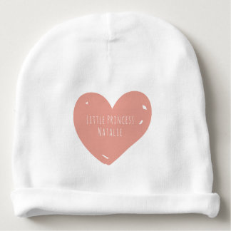 Little Princess Custom Baby Cotton Beanie