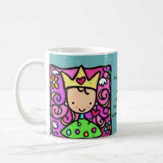 Little princess Custom text Whimsical cup