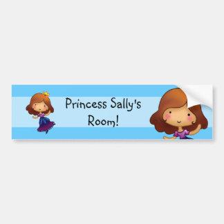 Little Princess Door sticker Bumper Stickers