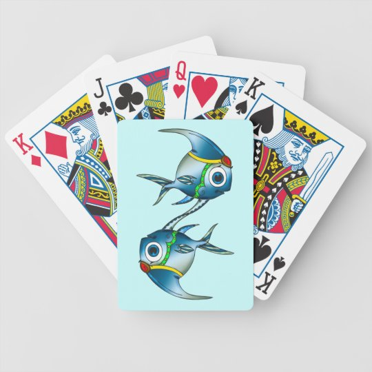 Little Princess Fish Playing Cards