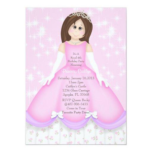 Little Princess Invitation