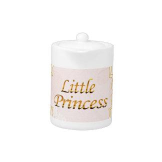 Little Princess Name Tag Teapot