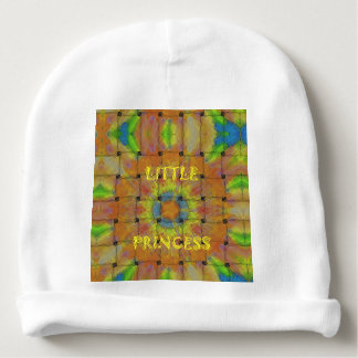 Little Princess Not my Vision But His Vision Baby Beanie