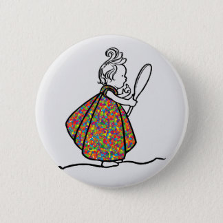 Little Princess Pinback Button