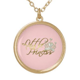 Little Princess Round Pendant Necklace