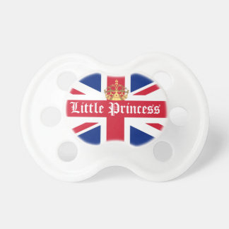Little princess royal baby pacifier