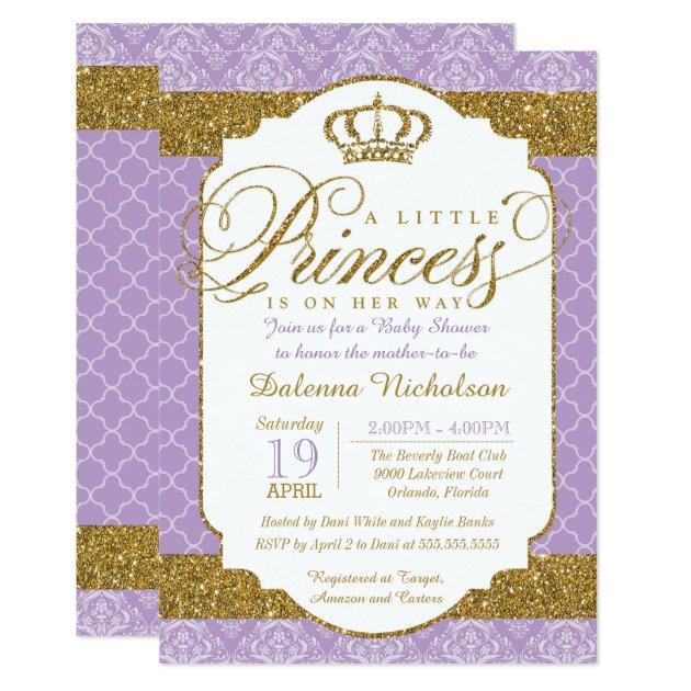 Royal Princess Baby Shower Invitations was beautiful invitation layout