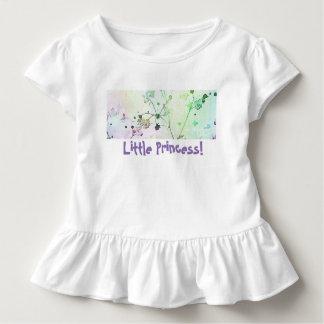 Little Princess Toddle Tee | Ruffled