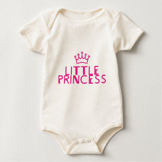 LITTLE PRINCESS with crown - matching outfit Baby Bodysuit