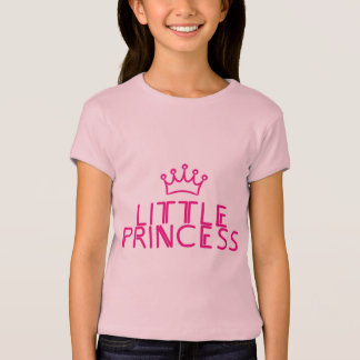 LITTLE PRINCESS with crown - matching outfit T-Shirt