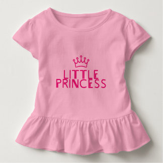 LITTLE PRINCESS with crown - matching outfit Toddler T-shirt