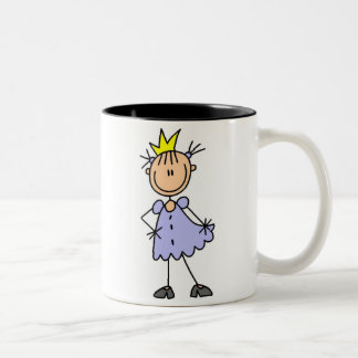 Little Princess With Crown Coffee Mugs
