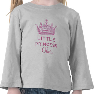 Little Princess with Pink Crown V13 T-shirts