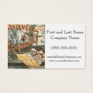 Little Princesses Belle Etoile Illustration Business Card