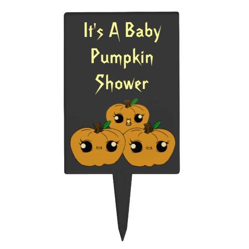 little pumpkin baby shower cake toppers zazzle