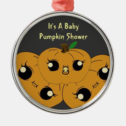 little pumpkin baby shower ornaments zazzle