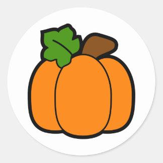 Little Pumpkin Classic Round Sticker