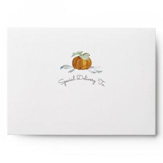 Little Pumpkin Envelope