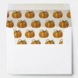 Little Pumpkin Envelope - Fall Party
