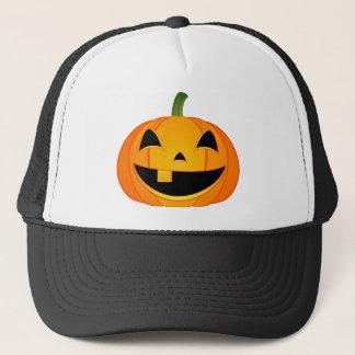 Little Pumpkin Face Trucker Hat