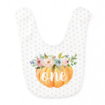 Little Pumpkin | First Birthday Baby Bib