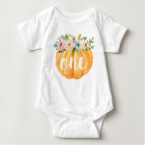 Little Pumpkin First Birthday Baby Bodysuit