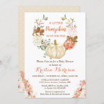 """Little Pumpkin Gold Glitters Fall Baby Shower Invitation<br><div class=""""desc"""">Little Pumpkin Gold Glitters Fall Baby Shower Invitation. (1) For further customization, please click the """"customize further"""" link and use our design tool to modify this template. (2) If you prefer Thicker papers / Matte Finish, you may consider to choose the Matte Paper Type. (3) If you need help or...</div>"""