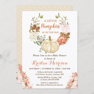 pink boy Pumpkin Baby shower Invitation girl glitter navy Fall Baby Shower Invite Fall Baby Shower,Pumpkin fall baby shower 1900