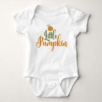 Little Pumpkin Halloween Infant Baby Romper
