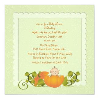Little Pumpkin Invitation