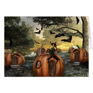 Little Pumpkin Land (Card) Card