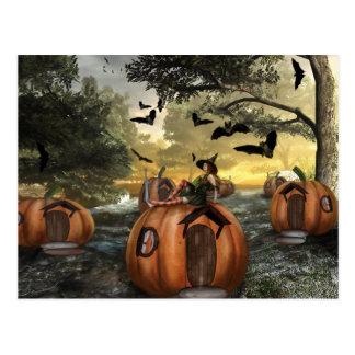 Little Pumpkin Land (Postcard)