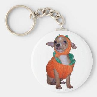 Little Pumpking Chihuahua Keychain