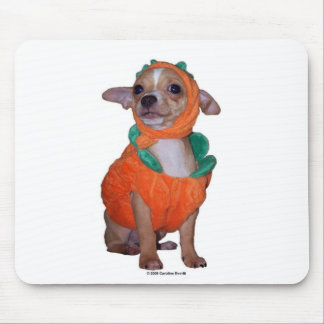 Little Pumpking Chihuahua Mouse Pad